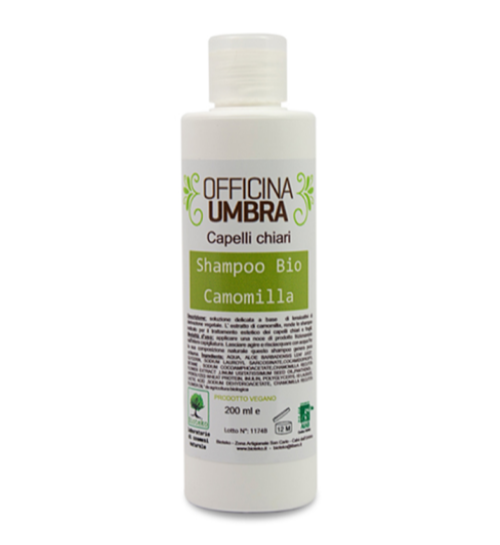 Haarshampoo mit Kamille