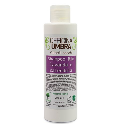 Haarshampoo mit Lavendel- und Ringelblumen