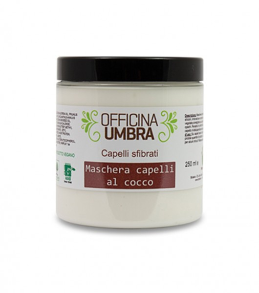 Kokosnuss-Haarmaske für trockenes Haar