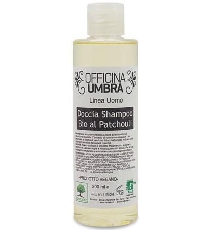 Duschshampoo mit Bio-Patchouli-, Rosmarin- und Salbei-Extrakten
